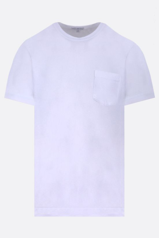 JAMES PERSE: pocket-detailed regular-fit cotton t-shirt Color White_1