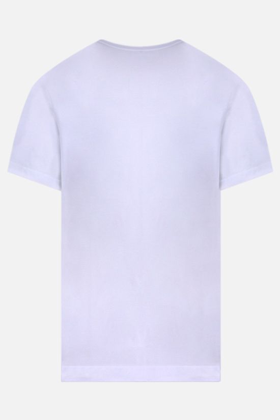 JAMES PERSE: pocket-detailed regular-fit cotton t-shirt Color White_2