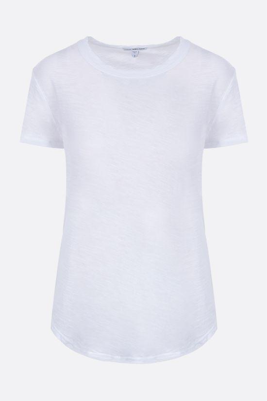 JAMES PERSE: slim-fit cotton jersey t-shirt Color White_1