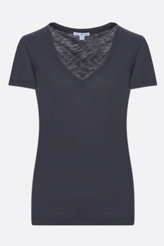 JAMES PERSE: slim-fit cotton jersey t-shirt Color Grey_1