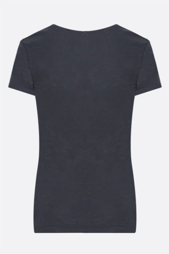 JAMES PERSE: slim-fit cotton jersey t-shirt Color Grey_2