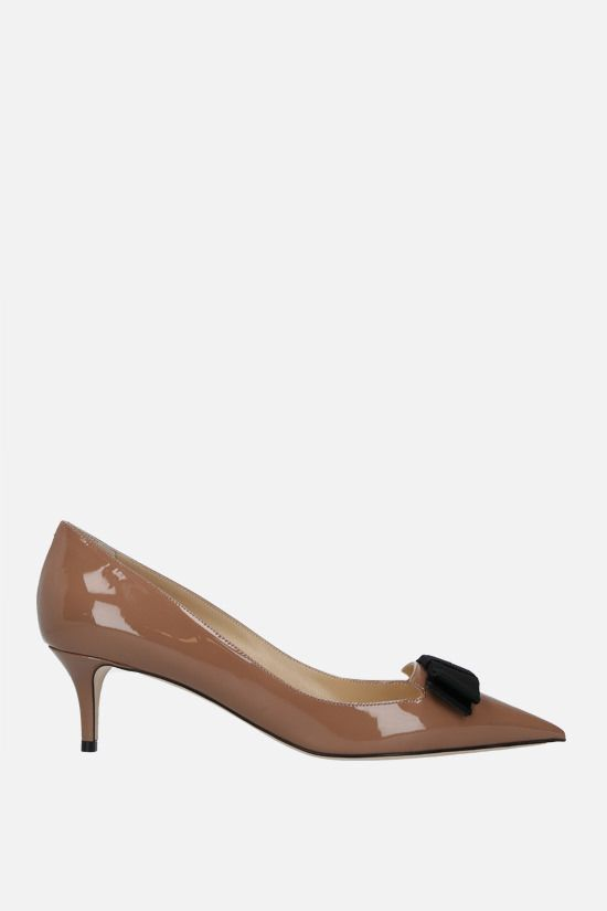 JIMMY CHOO: Ari patent leather pumps Color Pink_1