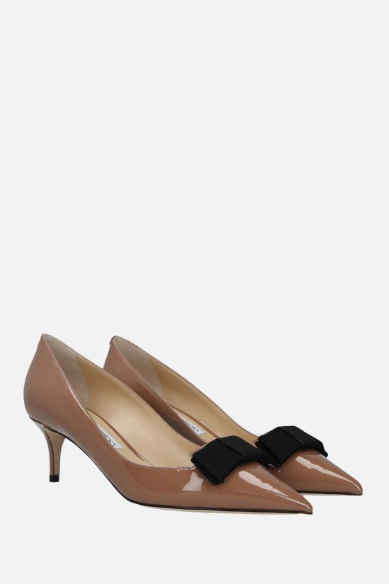 JIMMY CHOO: Ari patent leather pumps Color Pink_2