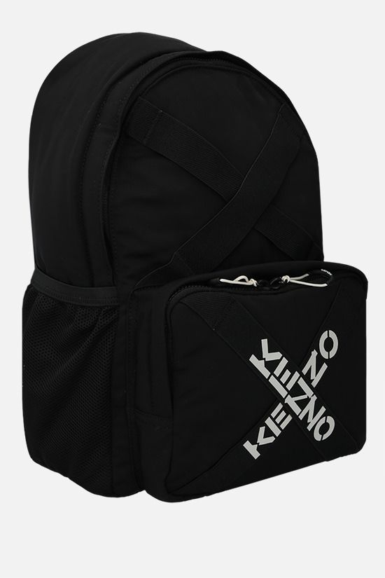 KENZO: Kenzo Sport nylon backpack Color Black_2