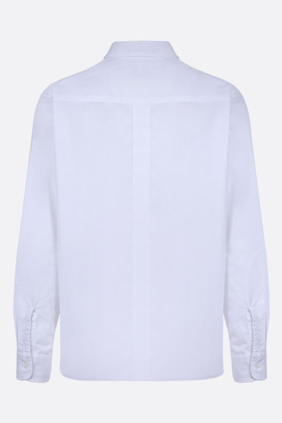 KENZO: Tiger Crest cotton shirt Color White_2