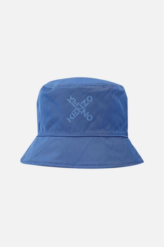 KENZO: Kenzo Sport Little X nylon reversible bucket hat Color Black_2