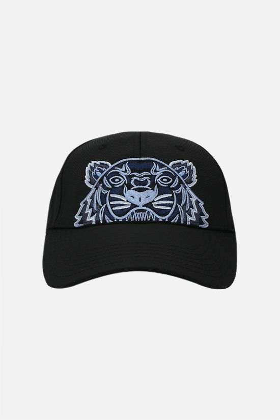 KENZO: Kampus Tiger nylon baseball cap Color Black_1