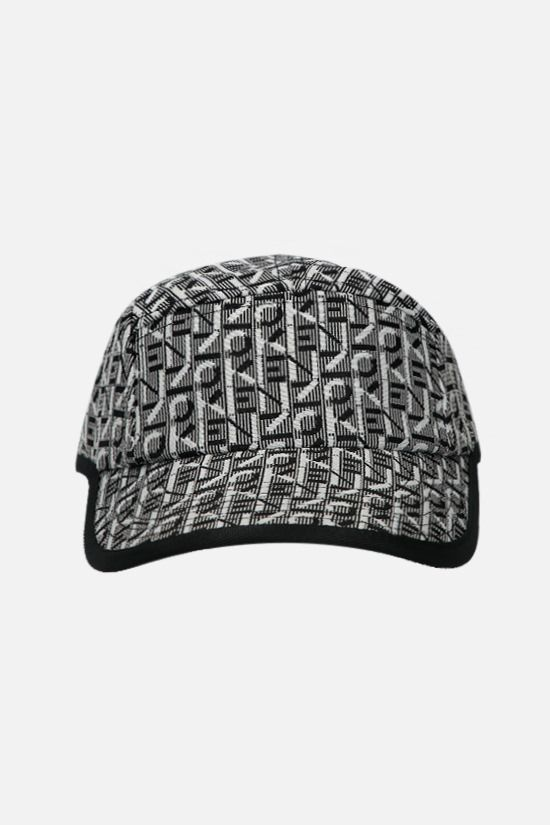 KENZO: Kenzo Trek logoed fabric baseball cap Color Black_1