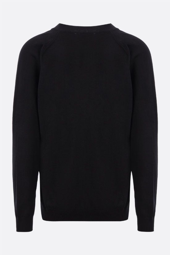 KENZO: Tiger Crest cotton cardigan Color Black_2