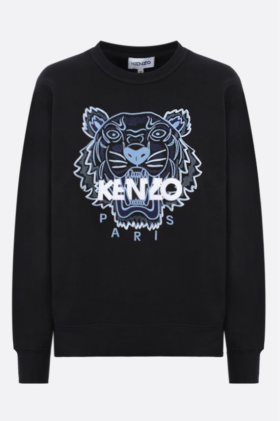 KENZO: Tiger cotton sweatshirt Color Black_1