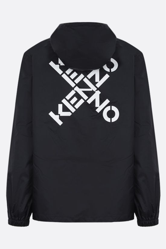 KENZO: Kenzo Sport nylon windbreaker Color Black_2