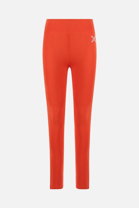 KENZO: Kenzo Sport nylon leggings Color Orange_1