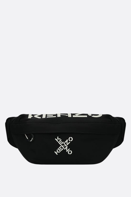 KENZO: Kenzo Sport nylon belt bag Color Black_1