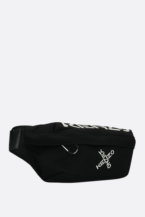 KENZO: Kenzo Sport nylon belt bag Color Black_2