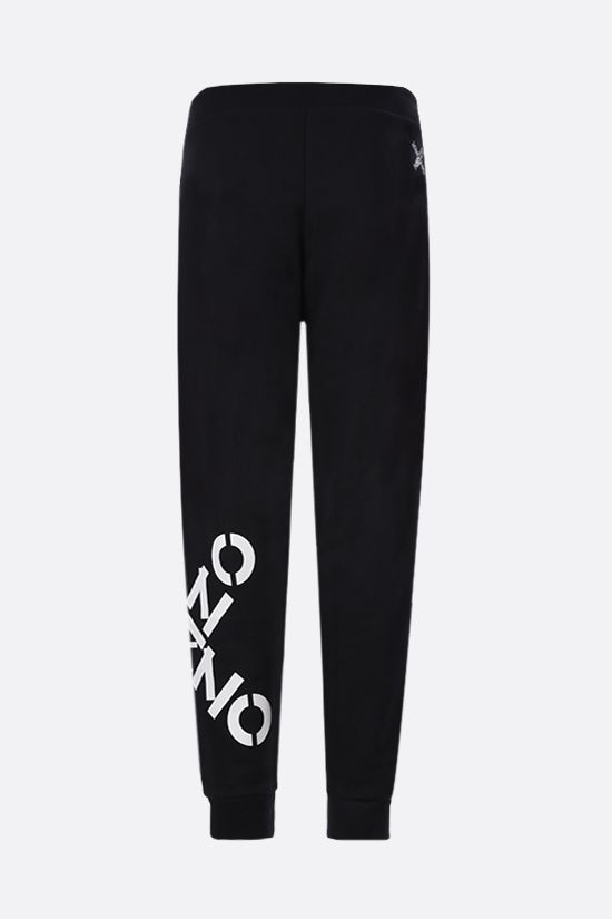KENZO: Kenzo Sport Big X jersey joggers Color Black_2