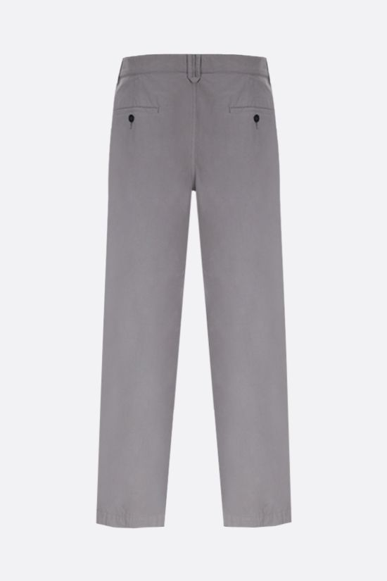 KENZO: cotton chino pants Color Grey_2