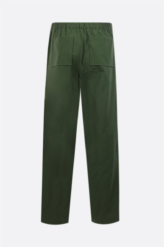 KENZO: technical cotton joggers Color Brown_2