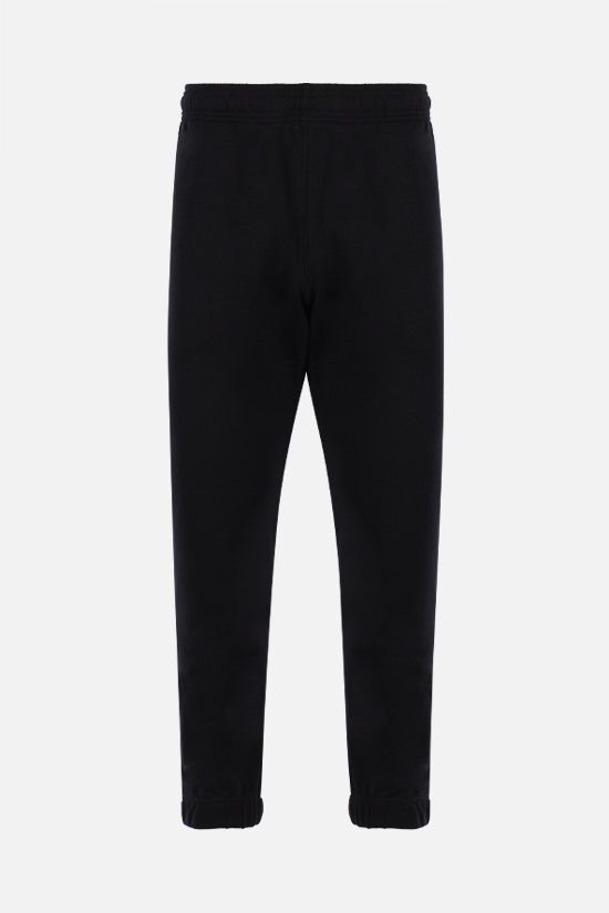 KENZO: Tiger Crest cotton joggers Color Black_1