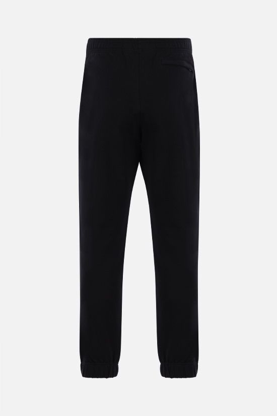 KENZO: Tiger Crest cotton joggers Color Black_2