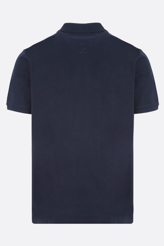 KENZO: Tiger Crest cotton polo shirt Color Blue_2