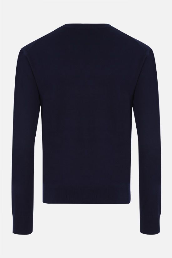 KENZO: Tiger Crest cotton pullover Color Blue_2