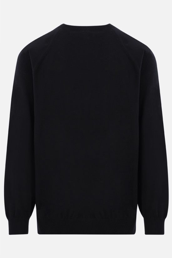 KENZO: Tiger Crest cotton pullover Color Black_2