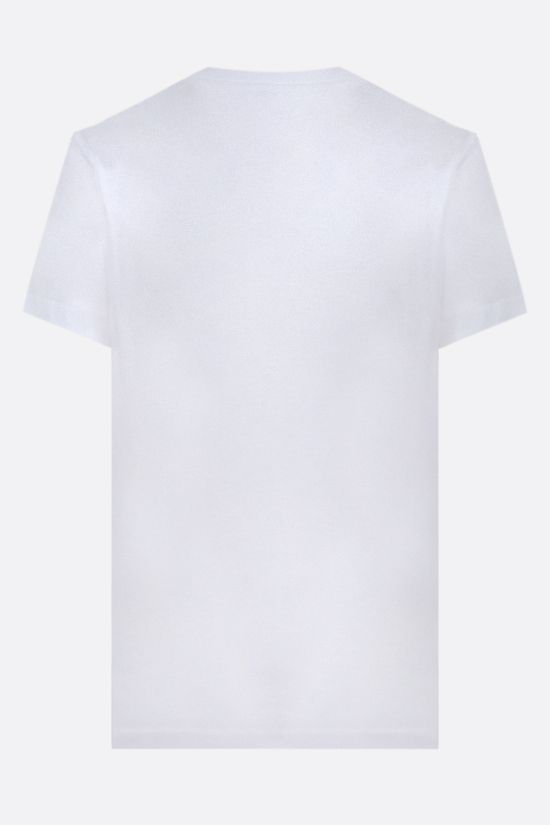 KENZO: Kenzo logo cotton t-shirt Color White_2