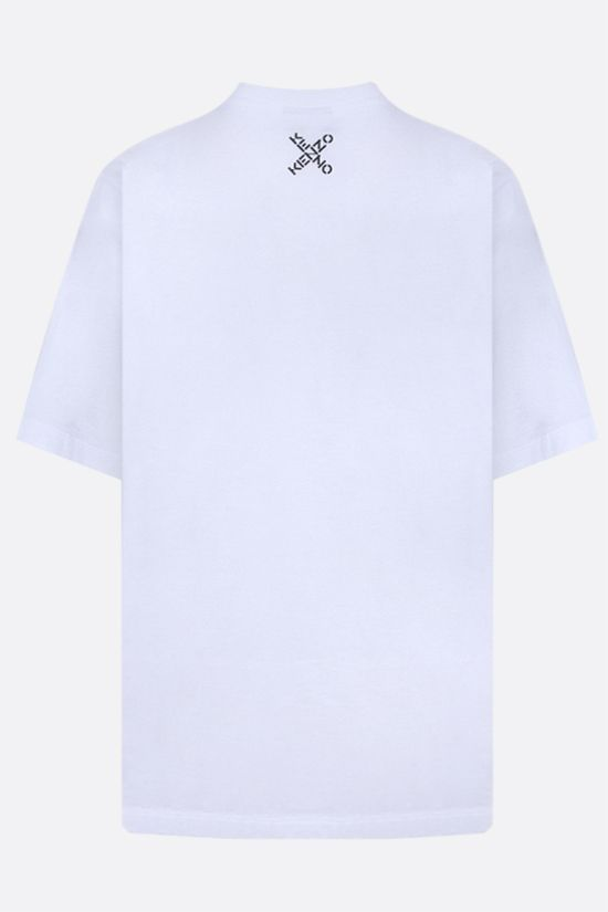 KENZO: Kenzo Sport Big X oversize cotton t-shirt Color White_2