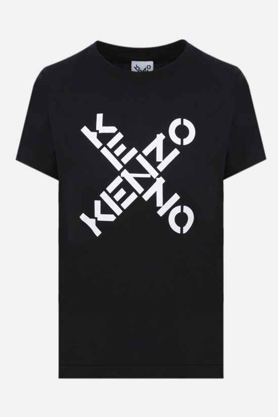 KENZO: Kenzo Sport Big X cotton t-shirt Color Black_1