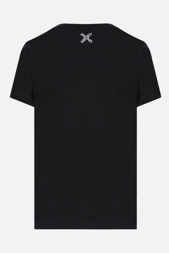 KENZO: Kenzo Sport Big X cotton t-shirt Color Black_2