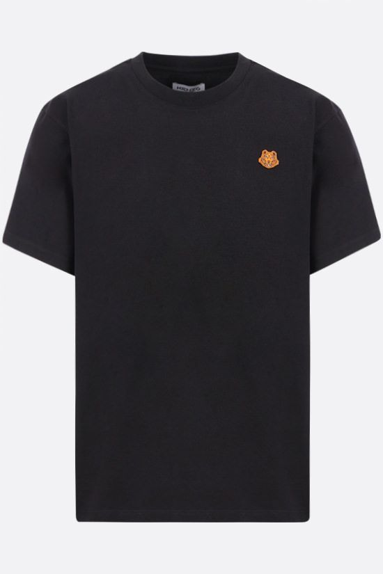 KENZO: Tiger Crest cotton t-shirt Color Black_1