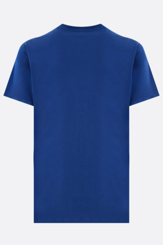 KENZO: Tiger cotton t-shirt Color Blue_2