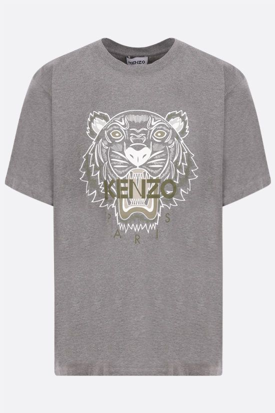 KENZO: Tiger cotton t-shirt Color Grey_1