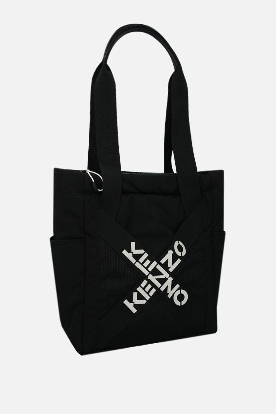 KENZO: Kenzo Sport small nylon tote bag Color Black_2