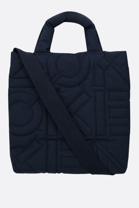 KENZO: quilted nylon tote bag Color Blue_1