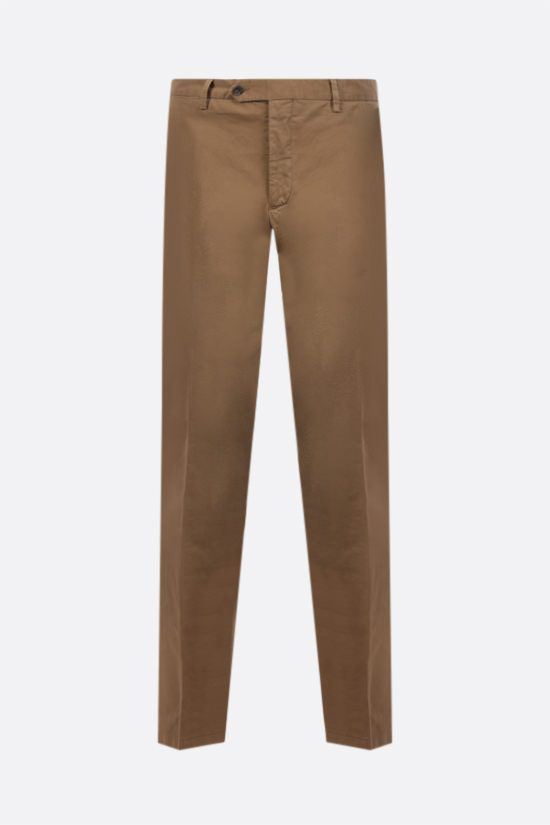 LARDINI: stretch cotton pants Color Neutral_1