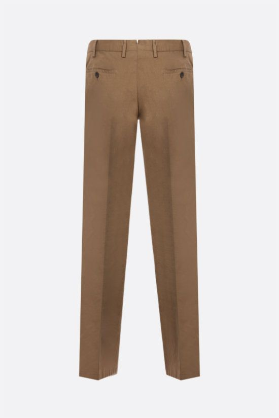 LARDINI: stretch cotton pants Color Neutral_2