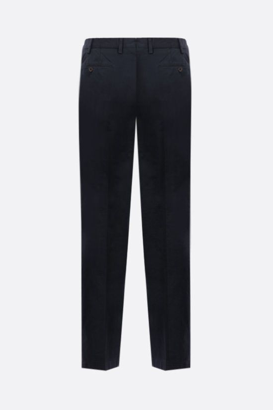 LARDINI: stretch cotton pants Color Blue_2