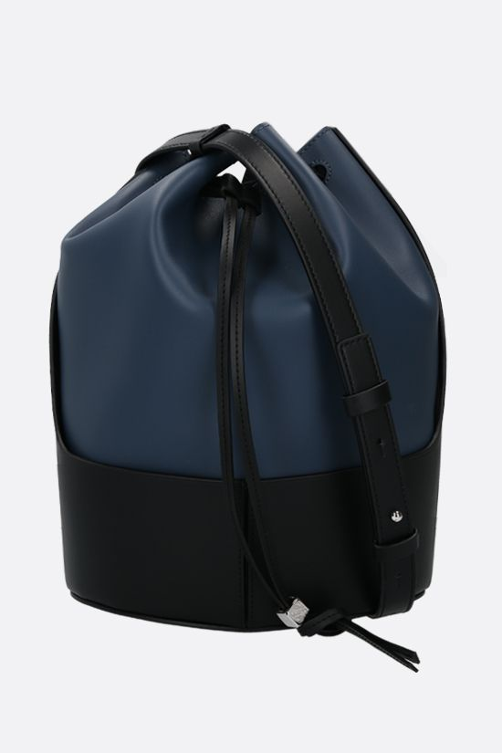 LOEWE: Balloon calf nappa bucket bag Color Blue_1