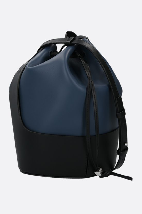 LOEWE: Balloon calf nappa bucket bag Color Blue_2