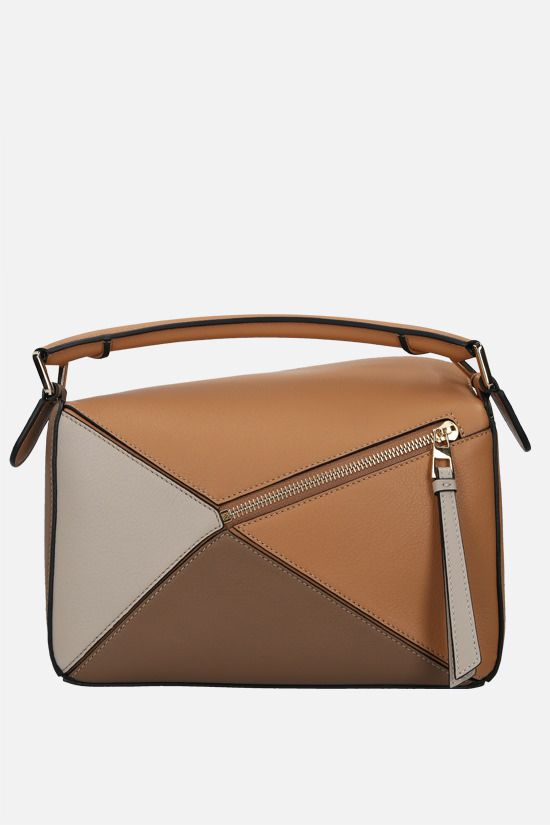 LOEWE: Puzzle small handbag in Classic leather Color Multicolor_1