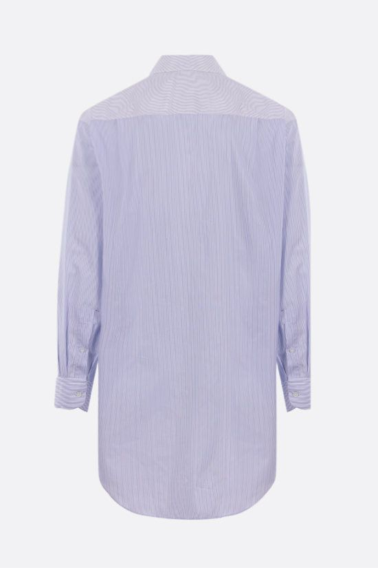LOEWE: oversize multi-panel cotton shirt Color Multicolor_2
