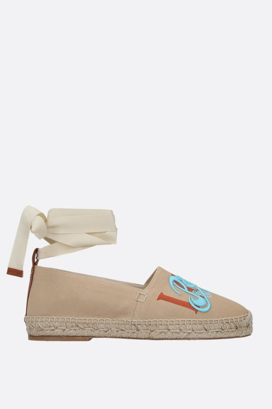 LOEWE: Paula's Ibiza canvas espadrilles Color Multicolor_1