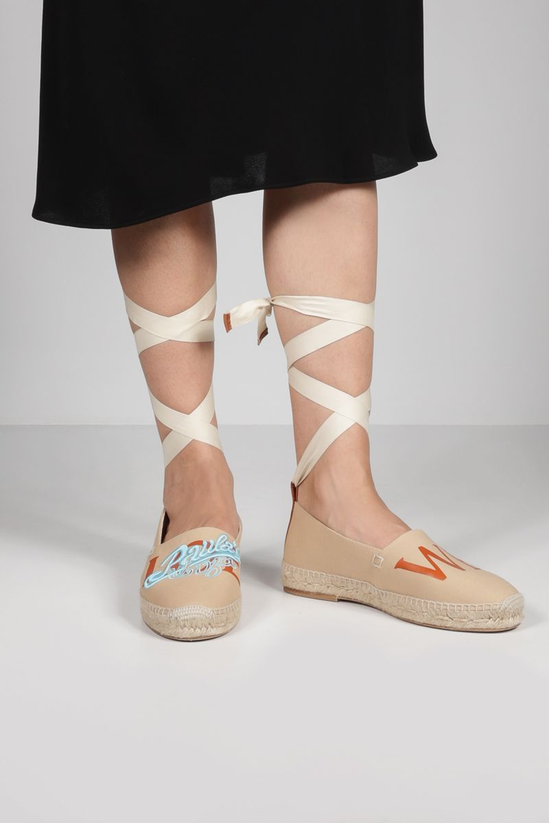 LOEWE: Paula's Ibiza canvas espadrilles Color Multicolor_2