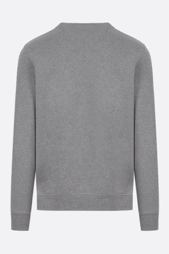 LOEWE: Anagram cotton sweatshirt Color Grey_2