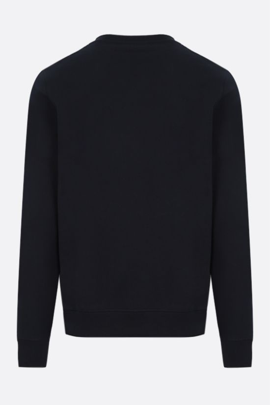 LOEWE: Anagram cotton sweatshirt Color Blue_2
