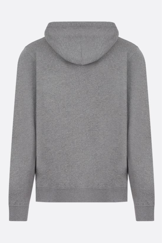 LOEWE: Anagram cotton hoodie Color Grey_2
