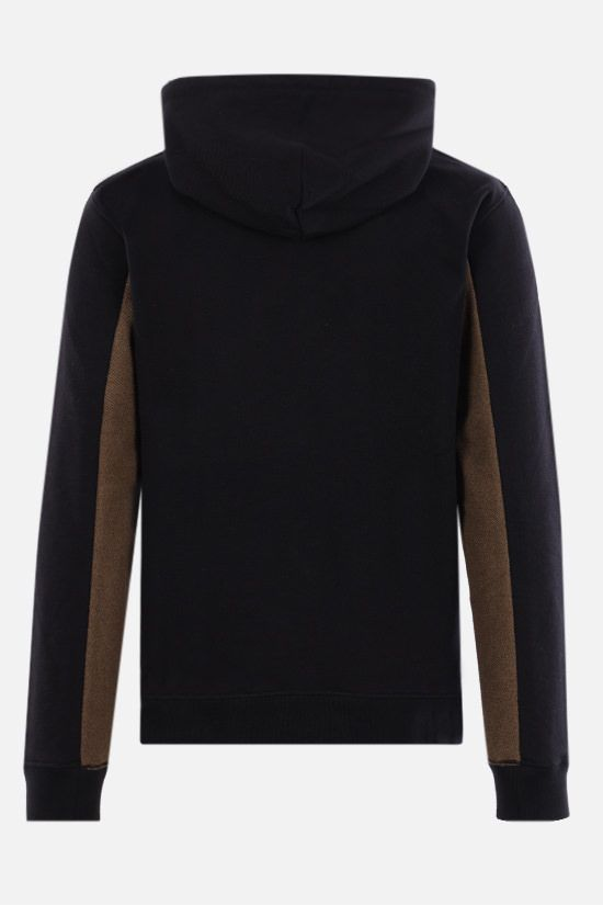 LOEWE: Anagram cotton hoodie Color Blue_2