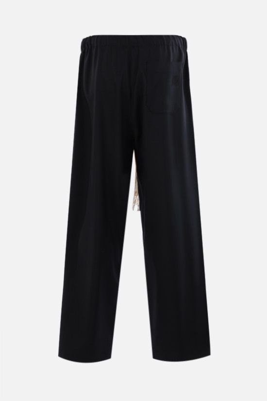 LOEWE: lightweight wool pants Color Black_2