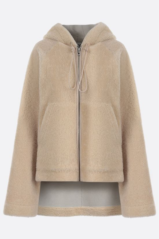 LOEWE: full-zip shearling jacket Color Multicolor_1